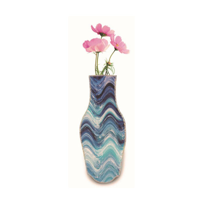 Wine Bottle Cover Vase - Wild Atlantic Way