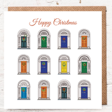 Load image into Gallery viewer, DOORS OF DUBLIN - HAPPY CHRISTMAS