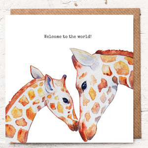 WELCOME TO THE WORLD - GIRAFFE