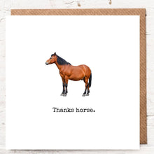 Load image into Gallery viewer, THANKS HORSE
