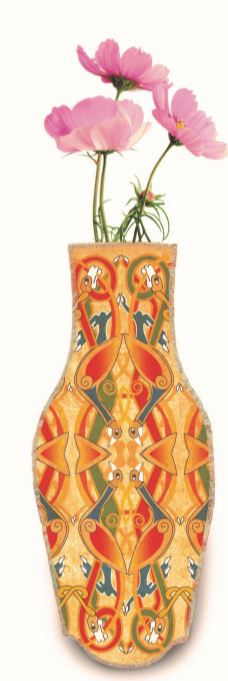 Wine Bottle Cover Vase - Book of Kells