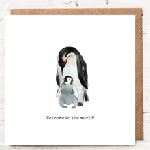 Load image into Gallery viewer, WELCOME TO THE WORLD PENGUIN