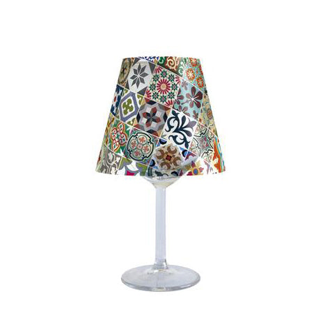 Tile - Wine Glass Lampshade