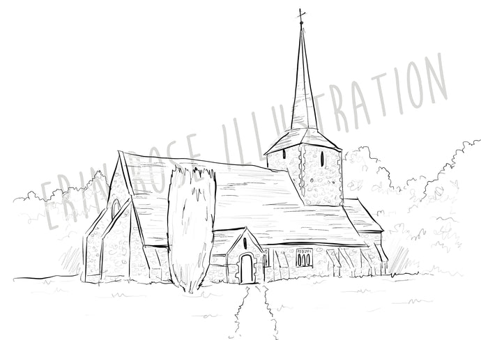 Illustration for Wedding Stationery (Digital File Only)