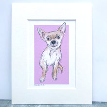 Personalised Chihuahua Dog Print