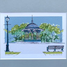 Personalised Clapham Common Bandstand London Print