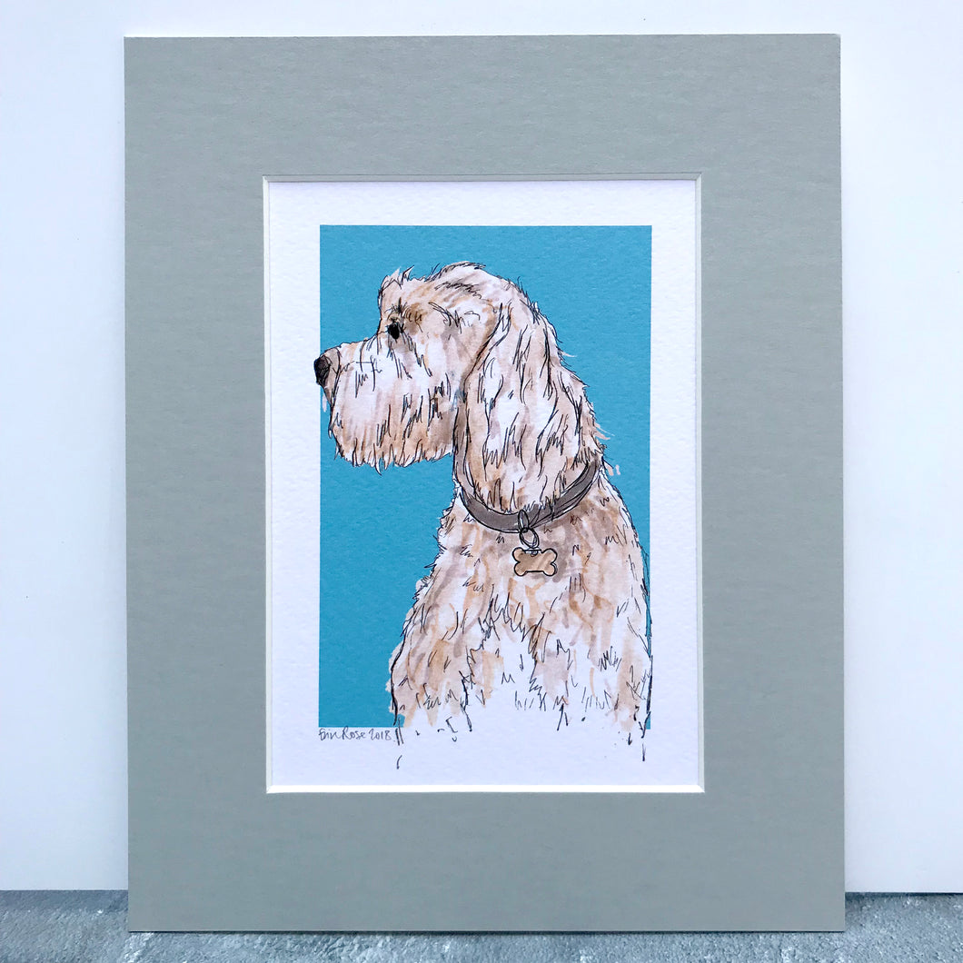 Personalised Cockapoo Dog Print