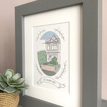 Personalised House Illustration Print