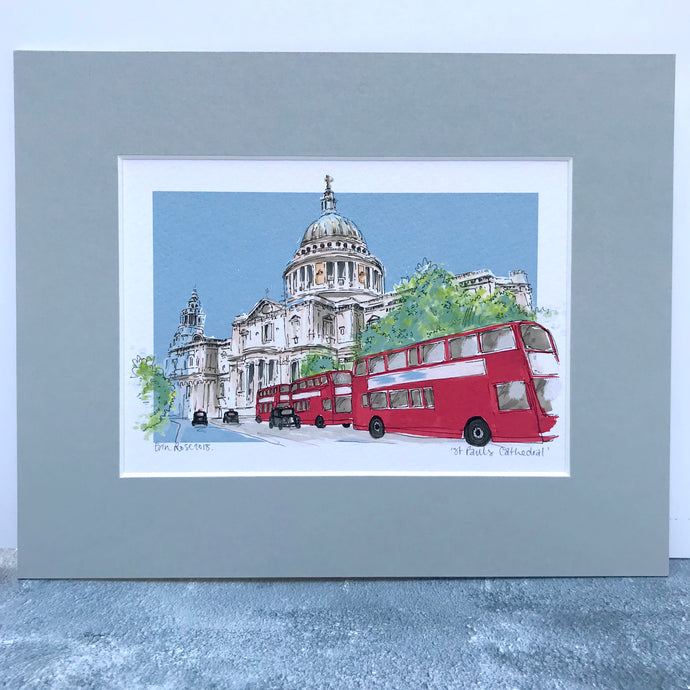 Personalised St Paul's Cathedral Print