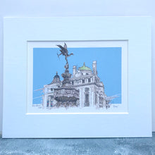 Personalised Statue of Eros Print