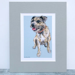 Personalised Dog Breed Print