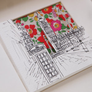 Big Ben London Pop-Out Print