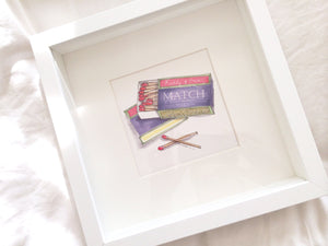 "Personalised ""Perfect Match"" Print"