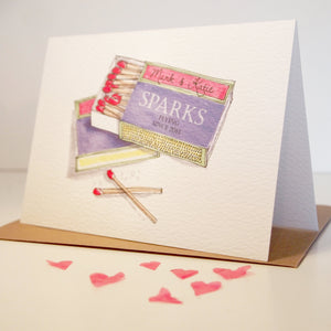 "Personalised ""Perfect Match"" Card"