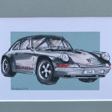 Personalised Classic Porsche Car Print