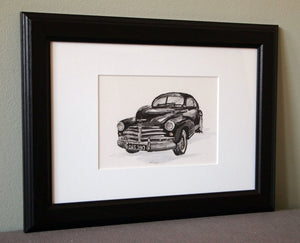 Personalised Car Illustration