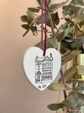 Hand painted Ceramic Bauble of your home