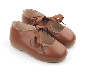 Mary Jane Classic - Chestnut