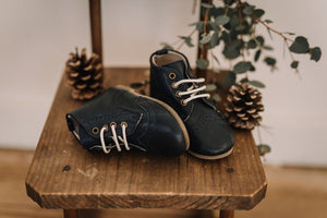 Boot - Navy - 50% off at checkout