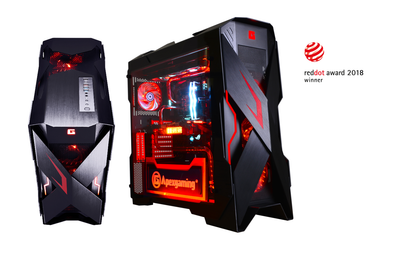 Apexgaming Unveils Reddot Winner Flagship X-Mars Full-Tower Gaming Chassis