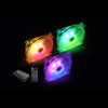 Apexgaming A-Cool Series, Addressable RGB Cooling Fan AC-120SR (3-pack including RGB controller)
