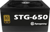 Apexgaming STG-650 650Watt 80 Plus Gold Power Supply