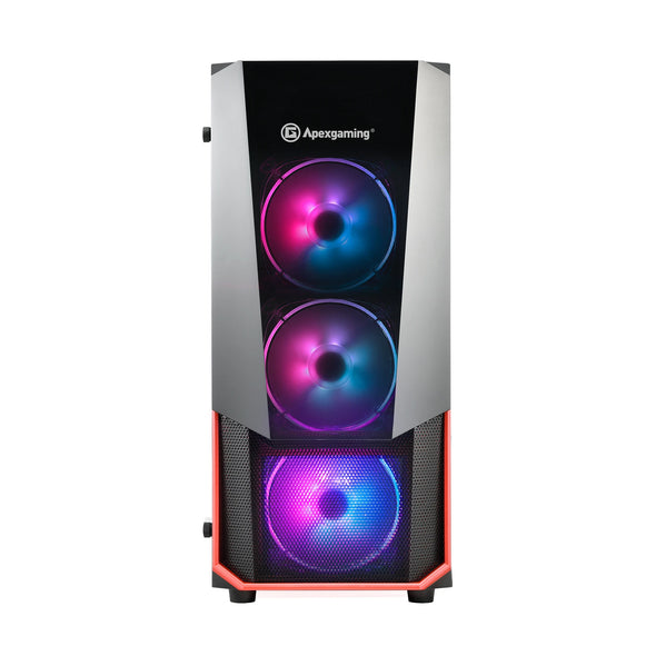 Apexgaming Hermes C2 ARGB E-ATX Mid Tower Case