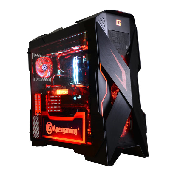 Apexgaming X-Mars E-ATX Full Tower Case - Handmade Limited Edition