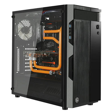 Apexgaming M1 ATX Mid Tower Case - Tempered Glass Edition