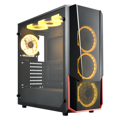 Apexgaming Hermès E-ATX Mid Tower Case