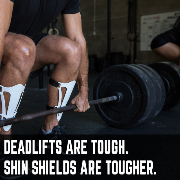 SMART SHIN SHIELDS - THE ULTIMATE DEADLIFT SHIN GUARDS
