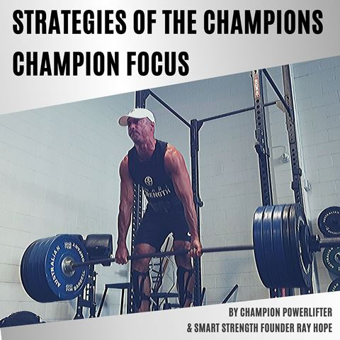 STRATEGIES OF THE CHAMPIONS - CHAMPION FOCUS