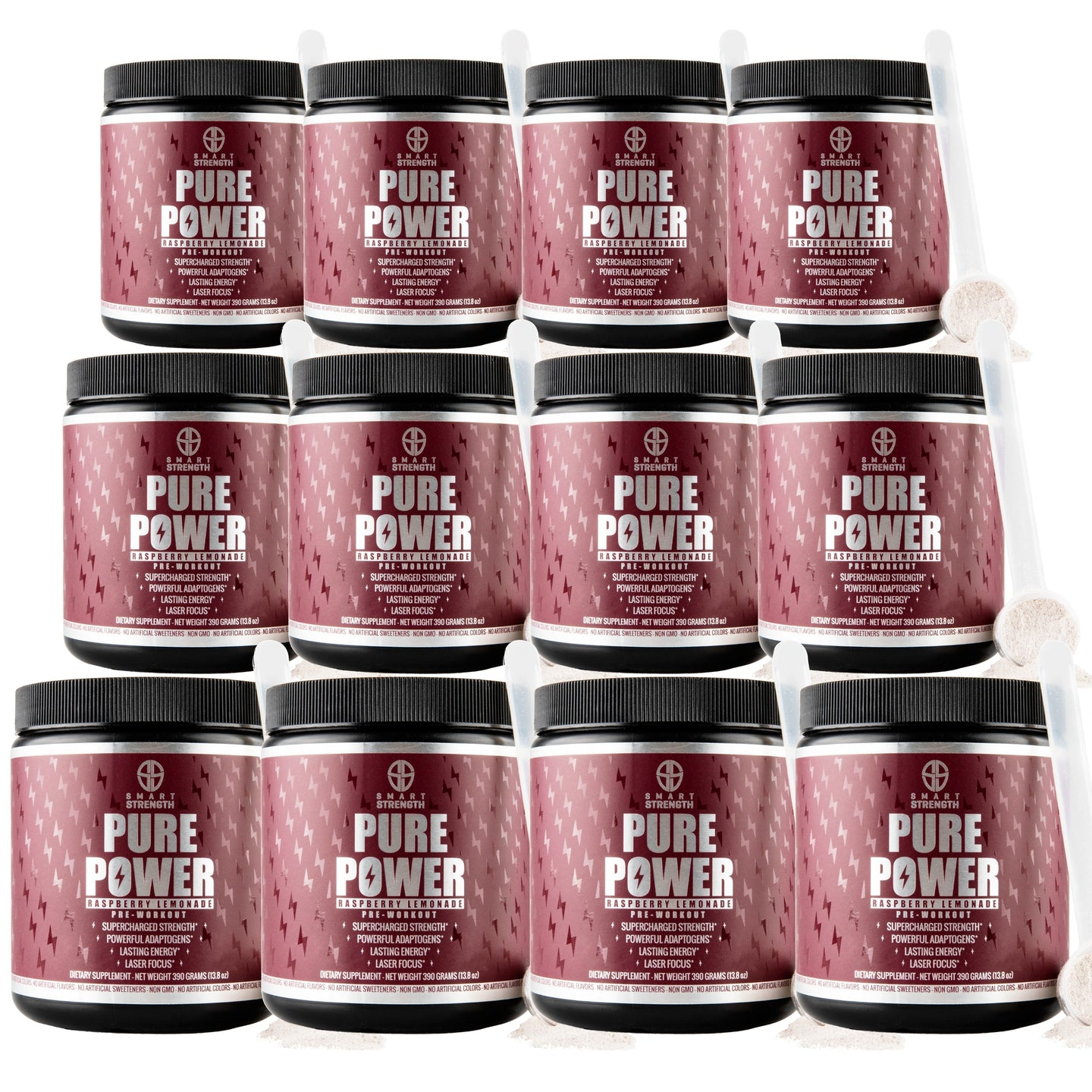 Pure Power Pre Workout Bundle of 12