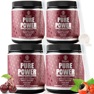 Pure Power Pre Workout Bundle of 4