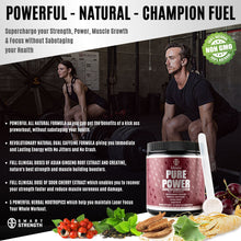 Load image into Gallery viewer, PURE POWER NATURAL PRE WORKOUT - 390 grams (13.8 oz) - NEW STOCK