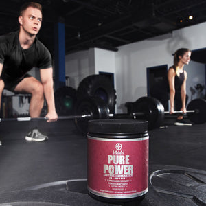 PURE POWER PRE WORKOUT - ALL NATURAL - 100% KICKASS !
