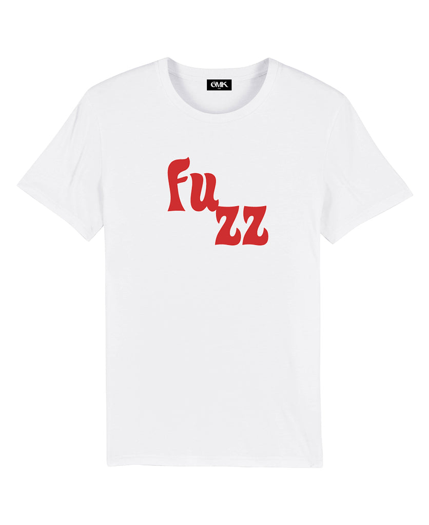 Good Morning Keith Unisex White Fuzz Tee