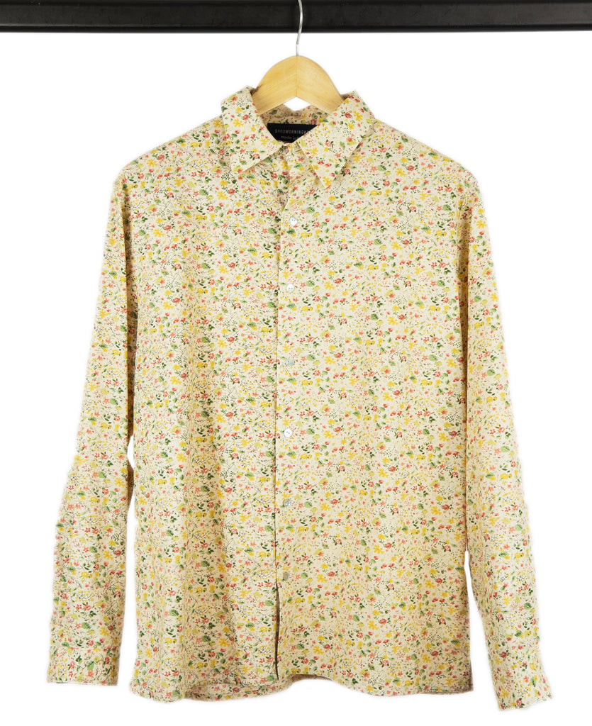 Good Morning Keith Flowered Hugo Unisex Printed Shirt