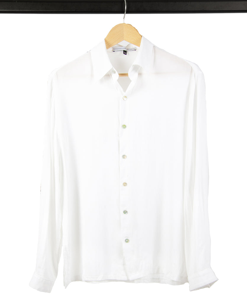 Good Morning Keith Marie Unisex White Shirt