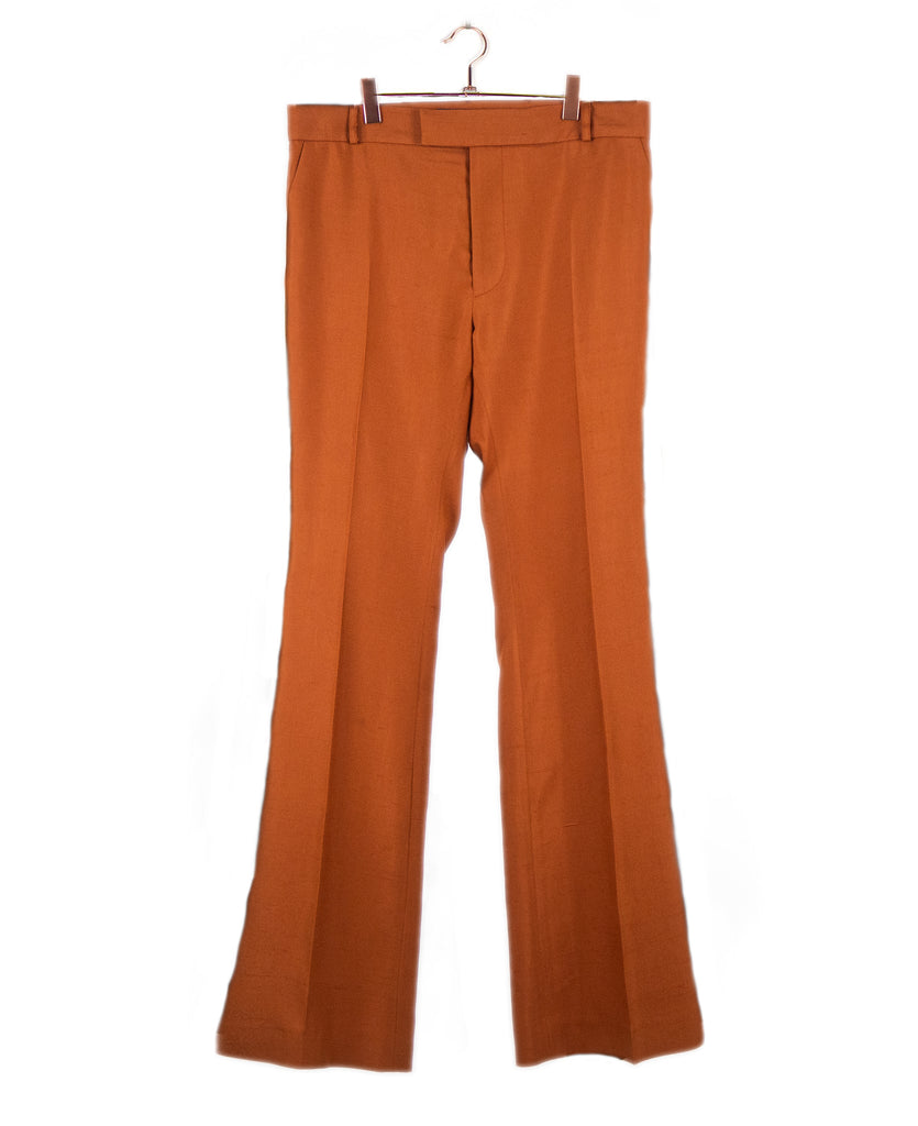 Good Morning Keith Tangerine Unisex Flared Tailored Pant