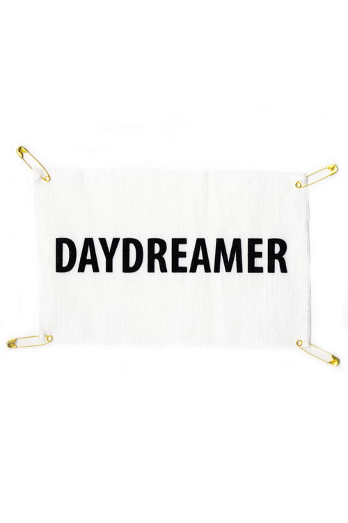 Patch Good Morning Keith en toile de coton Daydreamer en impression velour