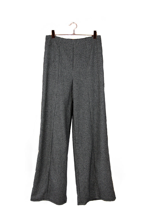 Pantalon Tailleur Flare Louise Good Morning Keith en laine made in paris