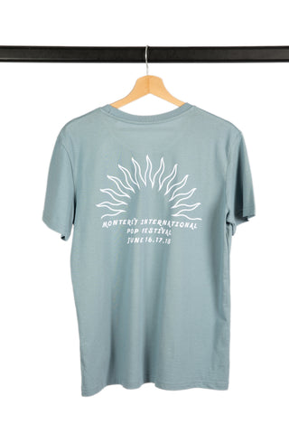 T-SHIRT SPONTANEOUS UNDERGROUND LIGHT BLUE