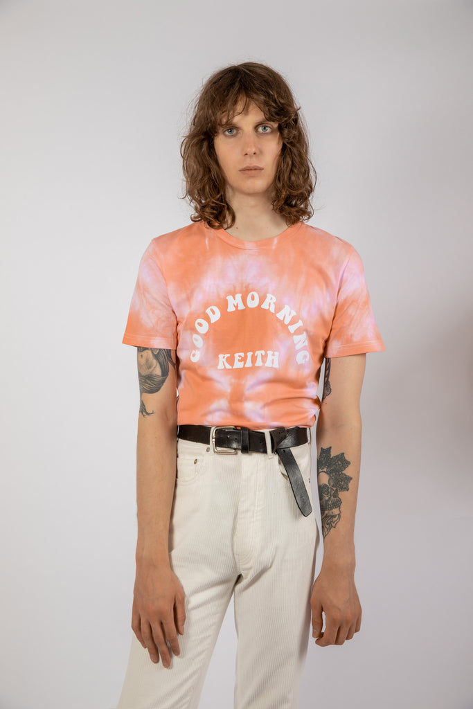 GMK MIROR CORAL TIE & DYE TEE - Good Morning Keith