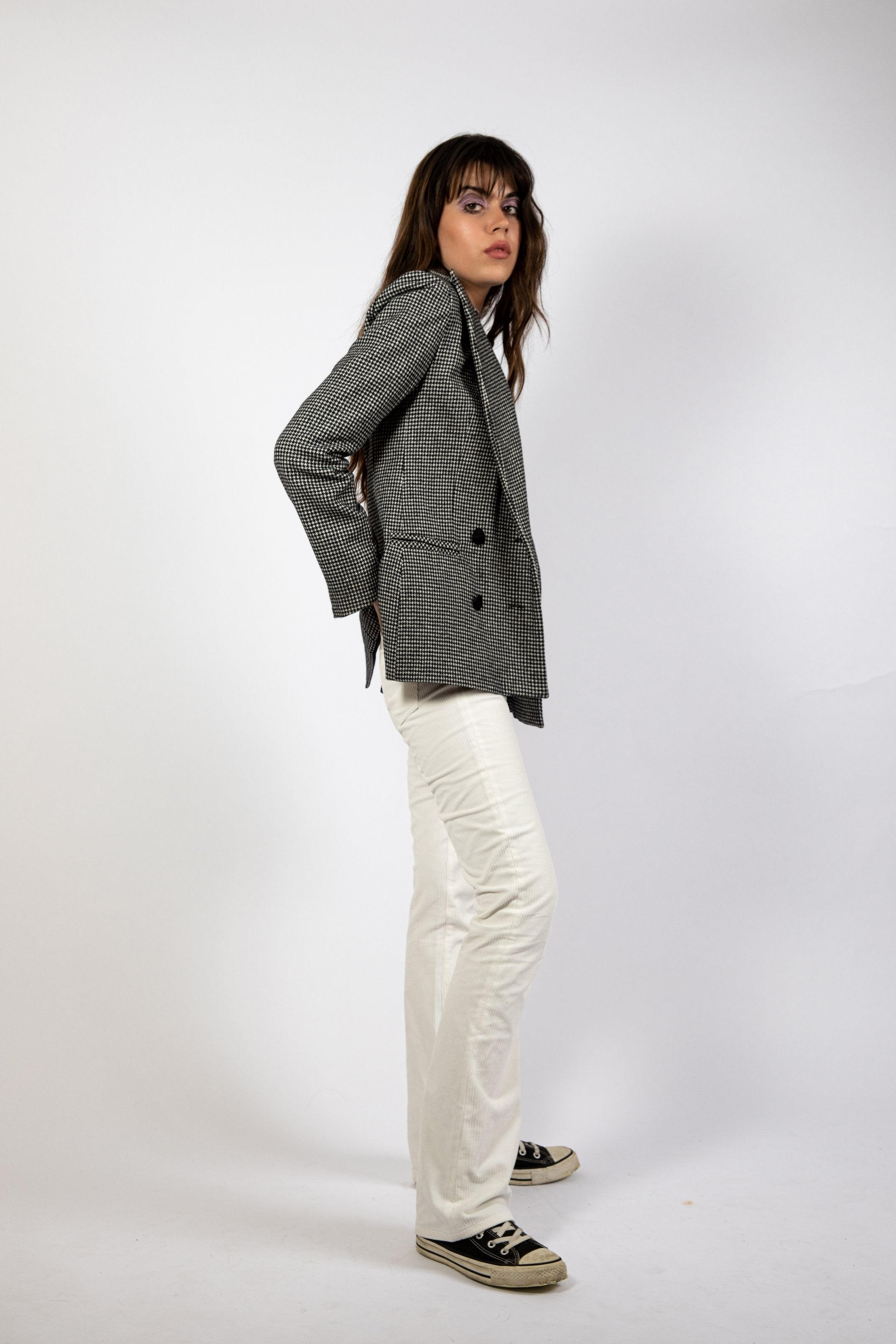 Veste tailleur croisé Coney Good Morning Keith inspiration vintage sixties et seventies