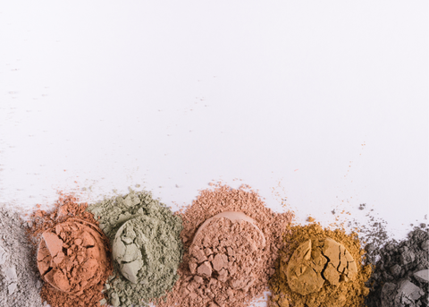 beauty clay powders