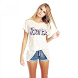 Woman's Barbie T shirt - short sleeve 100% cotton