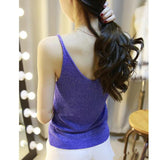 Womens workout tank top cotton cami, women sports gym yoga ladies loungewear