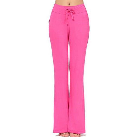 Woman's trousers cotton modal dancing High Waist - Bottoms joggers gym yoga fitness leggings tracksuit bottoms pants