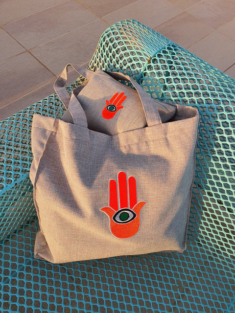 Beach Bag Hand - MINE BAGS AND ACCESSORIES - MIRA Y MANO